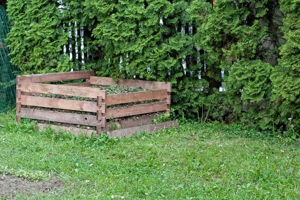 Место для размещения компостной кучи